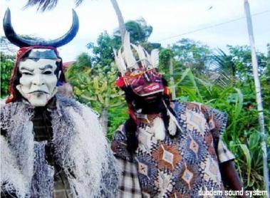 Jonkunnu costumes